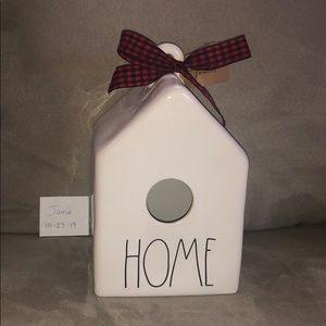 Rae Dunn Square Home Birdhouse